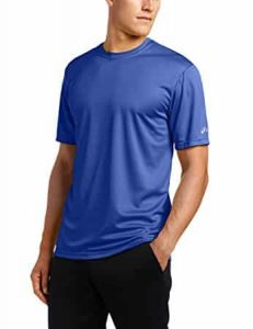 asics ready set technical running t shirt