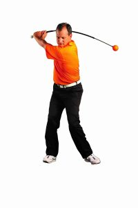 best golf training aids - orange whip