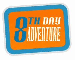 8th day adventure logo