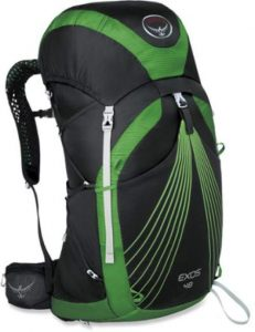 osprey exos rucksack