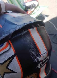 helmet crash beginner