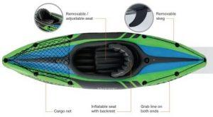 k1 challenger canoe seat