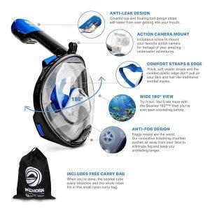 seaview 180 snorkel mask