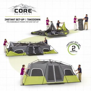 The CORE 12 man tent is similar in terms setup time as the Ozark Trail.  sc 1 st  Noob Norm & The Best HUGE 12 Person Tents For Your 2018 Camping Trips
