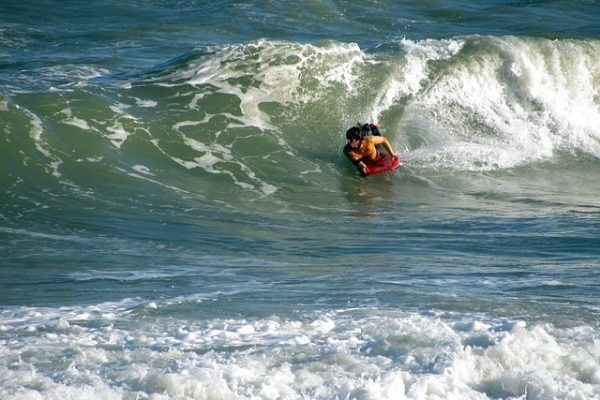 slippery bodyboard