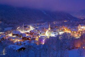 european ski season months