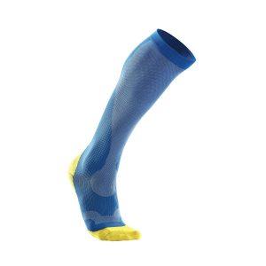 blue compression socks