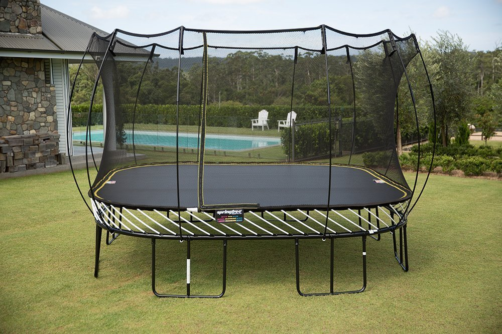 best trampolines with basketball hoop