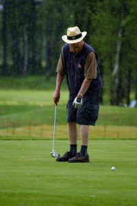 golf in the rain is no fun if your shoes are not waterproof.