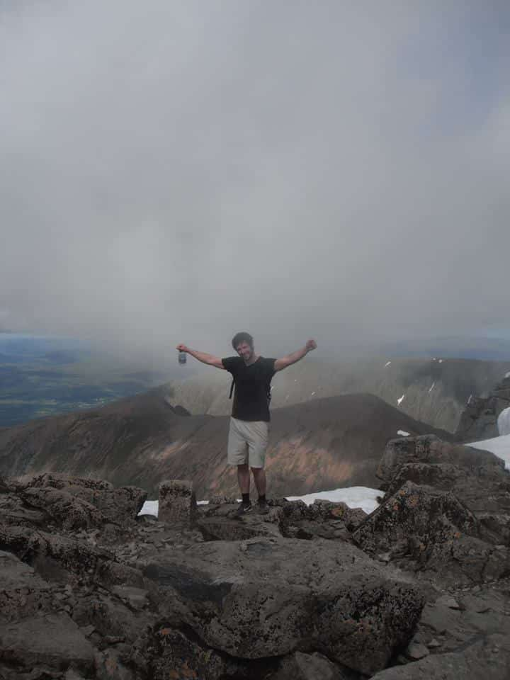 top of ben nevis, scotland