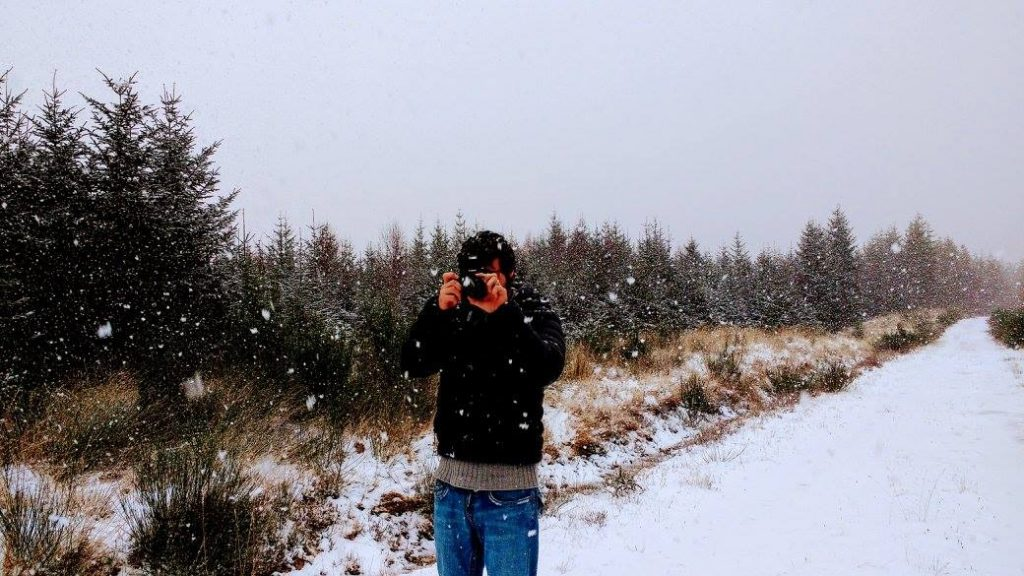 photography in the snow