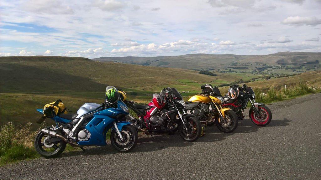biking in scotland