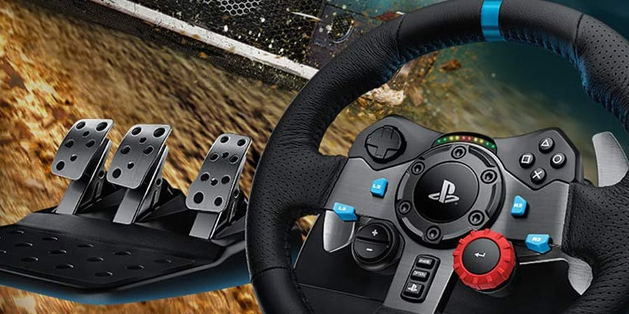 The Best PS4 Steering Wheel And Pedals In 2020 [Logitech G29 Review]