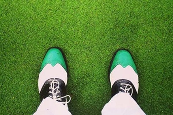 how to clean golf shoes