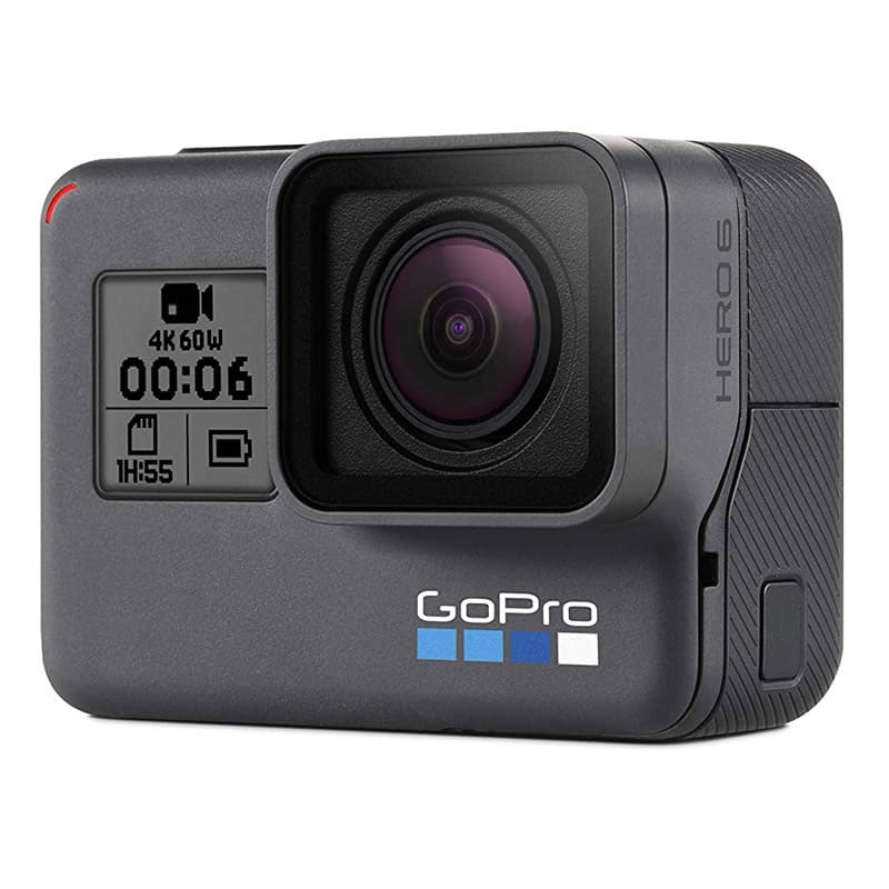 gopro hero 6 black front