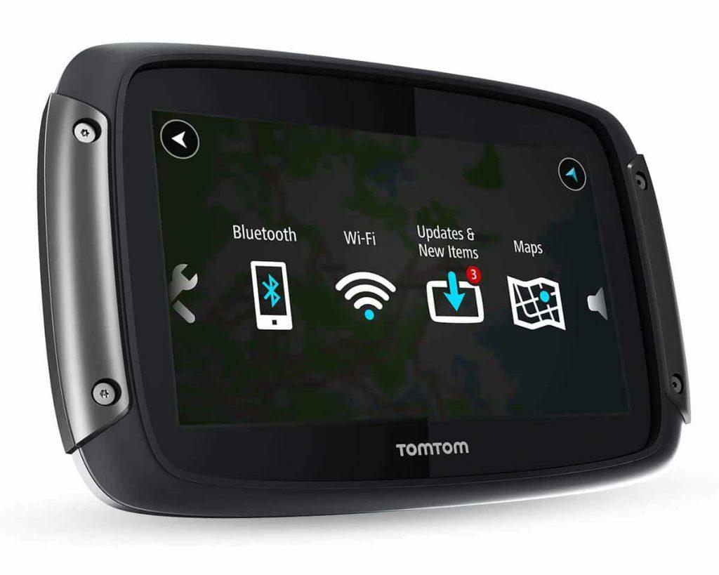 TomTom Rider 550 connectivity