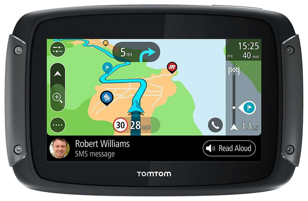 TomTom Rider 550 smart screen