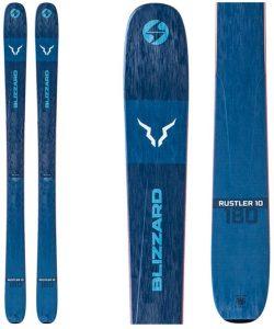 Rustler 10 skis from Blizzard