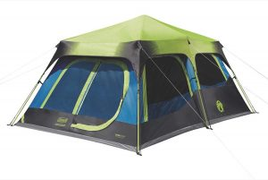 Coleman Cabin Dark Room Tent 10 person for camping