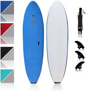South Bay Board Ruccus 7 foot Foam Surfboard