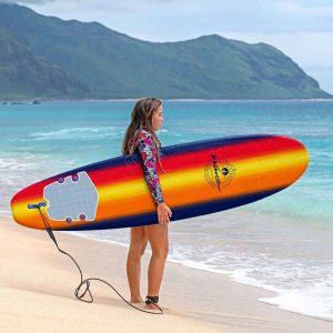 Wavestorm 8ft Classic Foam Surfboard