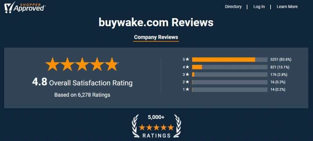 shopper approved buywake reviews