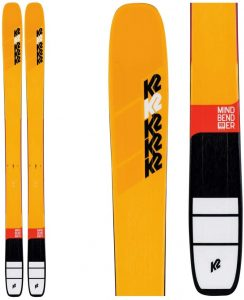 mindbender k2 skis for all mountain